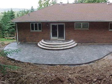 stamped concrete steps round stamped concrete round step landings and patio jefferson twp pa steps gallery none
